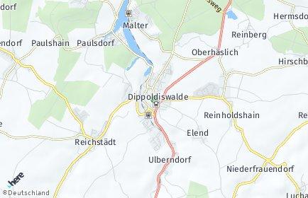 Stadtplan Dippoldiswalde