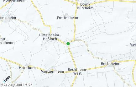 Stadtplan Dittelsheim-Heßloch