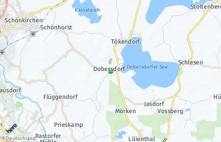Stadtplan Dobersdorf