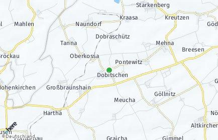 Stadtplan Dobitschen