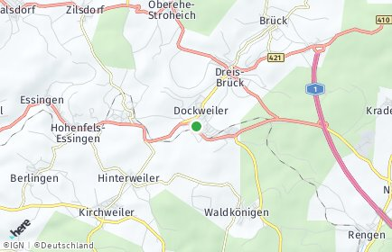Stadtplan Dockweiler