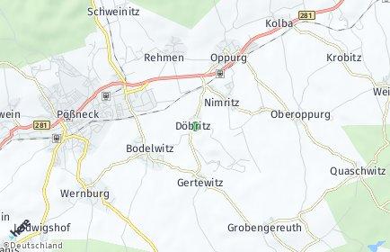 Stadtplan Döbritz
