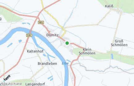 Stadtplan Dömitz