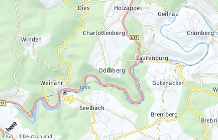 Stadtplan Dörnberg
