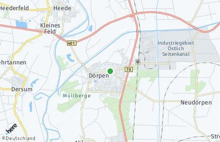 Stadtplan Dörpen