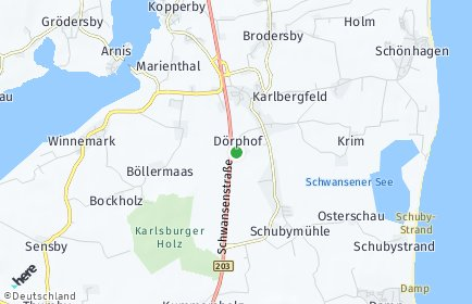 Stadtplan Dörphof