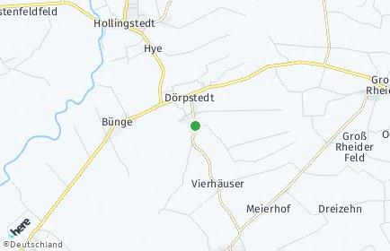Stadtplan Dörpstedt