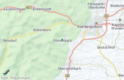 Stadtplan Dörrenbach