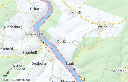 Stadtplan Dörscheid