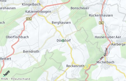 Stadtplan Dörsdorf