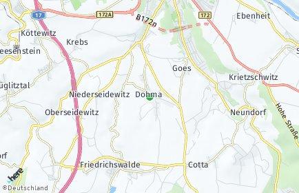 Stadtplan Dohma