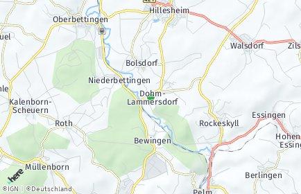 Stadtplan Dohm-Lammersdorf