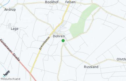 Stadtplan Dohren (Emsland)