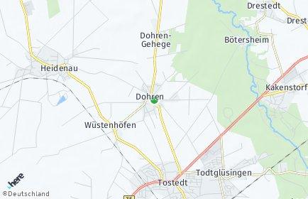 Stadtplan Dohren (Nordheide)