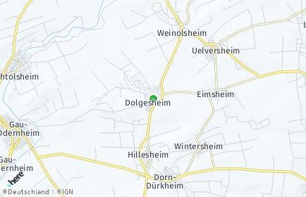 Stadtplan Dolgesheim