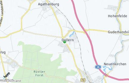 Stadtplan Dollern
