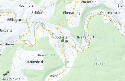 Stadtplan Dollnstein