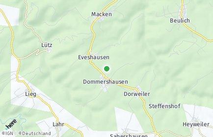 Stadtplan Dommershausen