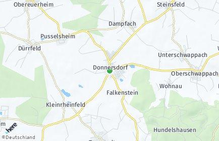 Stadtplan Donnersdorf