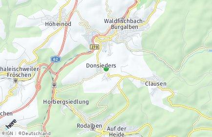 Stadtplan Donsieders