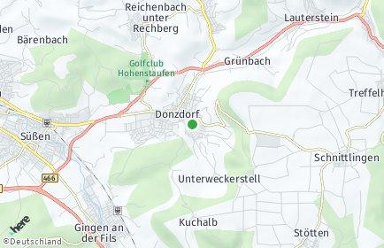 Stadtplan Donzdorf