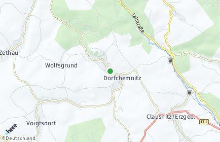 Stadtplan Dorfchemnitz