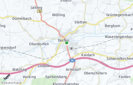 Stadtplan Dorfen