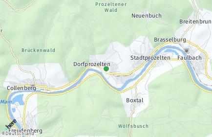Stadtplan Dorfprozelten