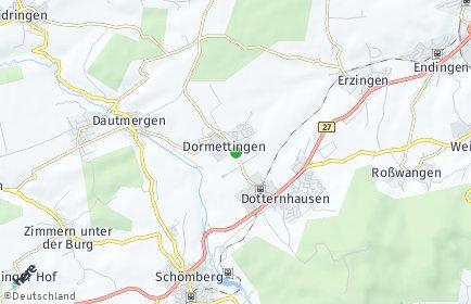 Stadtplan Dormettingen