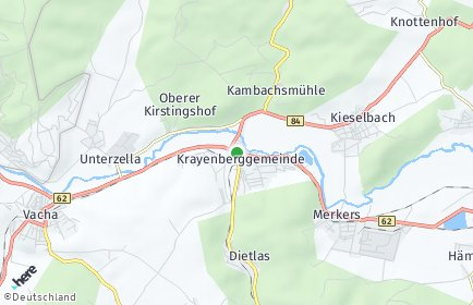 Stadtplan Krayenberggemeinde