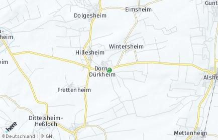 Stadtplan Dorn-Dürkheim