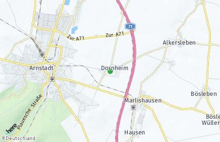 Stadtplan Dornheim (Thüringen)