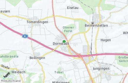 Stadtplan Dornstadt