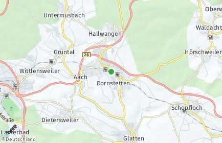 Stadtplan Dornstetten