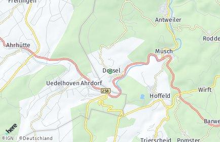 Stadtplan Dorsel