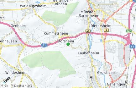 Stadtplan Dorsheim