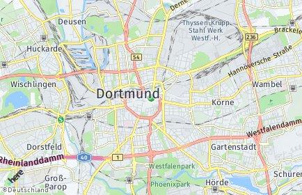 Stadtplan Dortmund