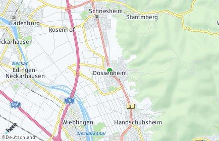 Stadtplan Dossenheim