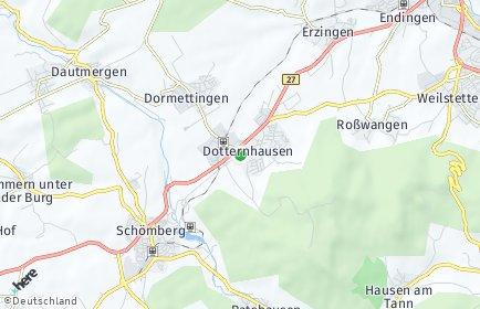 Stadtplan Dotternhausen