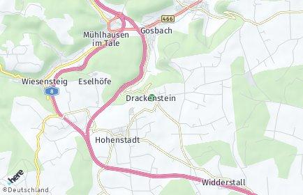 Stadtplan Drackenstein