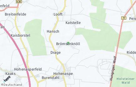 Stadtplan Drage (Steinburg)