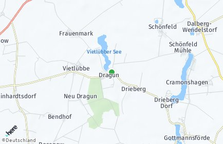 Stadtplan Dragun
