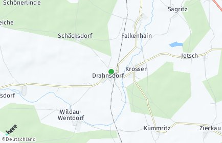 Stadtplan Drahnsdorf