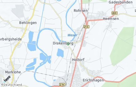 Stadtplan Drakenburg