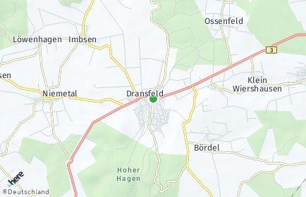 Stadtplan Dransfeld