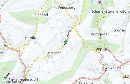 Stadtplan Drebach