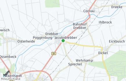 Stadtplan Drebber
