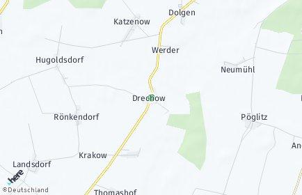 Stadtplan Drechow