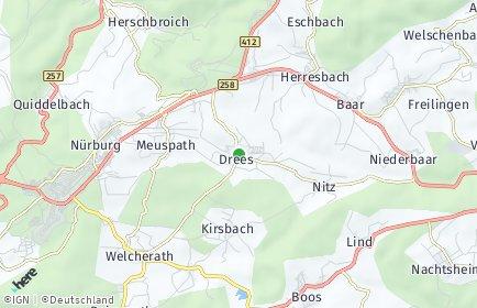 Stadtplan Drees