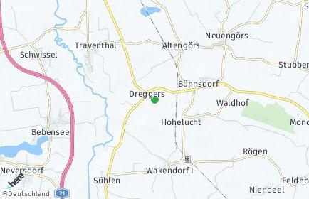 Stadtplan Dreggers
